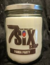 PANDA PARTY CANDLE (16 OZ HAND POURED BAMBOO SCENTED CANDLE...FREE SHIPPING!)