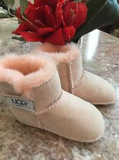 UGG Australia Erin 5202 Pink Color Infants  Size L EUC