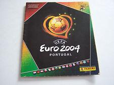ALBUM PANINI UEFA EURO 2004 AU PORTUGAL . INCOMPLET  . BON ETAT .