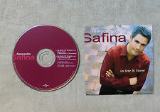 "CD AUDIO MUSIQUE / ALESSANDRO SAFINA ""LA SETE DI VIVERE"" CD SINGLE 2T 1999"