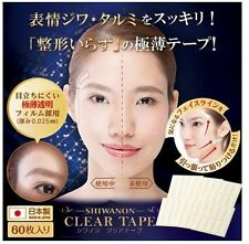 CHEZ MOI SHIWANON CLEAR TAPE FACE/FACIAL LIFT UP WRINKLE/SAGGING SKIN 60 pieces