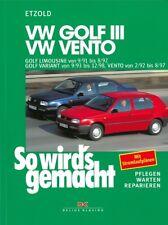 VW GOLF 3, Reparaturanleitung So wirds gemacht/Etzold Reparaturbuch/Handbuch