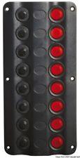 Osculati Pannello elettrico Wave 8 Interruttori - Pannelli e Quadri elettrici