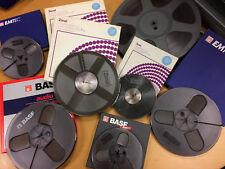 """Reel To Reel - Bobine nastro analogico 1/4"""" BASF ZONAL EMTEC"""