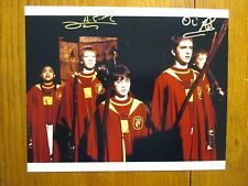 JAMES  PHELPS &  OLIVER  PHELPS (Harry Potter) Signed  8 X 10 Glossy Color Photo
