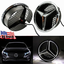 Led Car Front Grille Star Emblem Lights For Mercedes Benz 2006-2013 Illuminated (Fits: Mercedes-Benz)