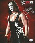 Sting Signed WWE 2K15 Promo 8x10 Photo PSA/DNA COA Picture Autograph WCW TNA NEW