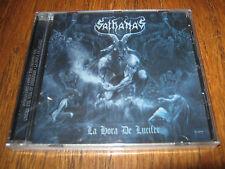"""SATHANAS """"La Hora De Lucifer"""" CD  nunslaughter demoncy"""