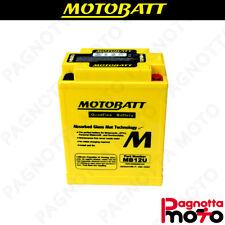 BATTERIA MOTOBATT MB12U YAMAHA QUAD YFM S GRIZZLY 125 2004>2013