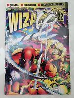 WIZARD Comics Magazine #22 June 1993 VILLAINS QUESADA COVER! DEADPOOL! OMEGA RED