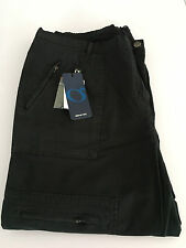 ELENA MIRO' pantalone donna nero invernale con tasche e zip 97% cotone tg.47-56
