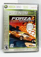 Forza Motorsport 2 Platinum Hits Xbox 360 Brand New Factory Sealed Rare