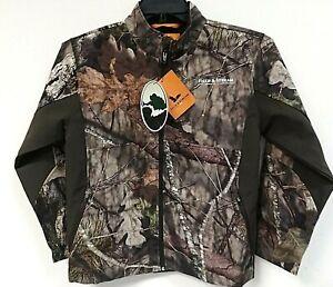 Field & Stream Youth Soft-shell Hunting Jacket, Mossy Oak, Size XL - 0G_07