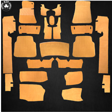 Carpet Set With Insulation Carpet For Mercedes W116 Se 22 Piece Velour Dattel