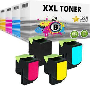 XXL TONER für LEXMARK CX310DN CX310N CX410DE CX410DTE CX410E CX510DTHE CX510DE