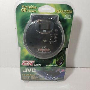 JVC portable cd player XL-PG39BK anti-shock protection hyper bass New Sealed