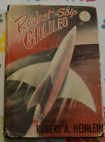 Robert Heinlein/ Rocket Ship Galileo, 1st Ed., probable 1st printing, 1947, Good