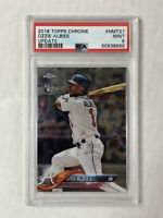 OZZIE ALBIES 2018 Topps Chrome Update RC #HMT27! PSA MINT 9! CHECK MY ITEMS!