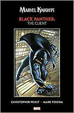 Marvel Knights Black Panther by Priest & Texeira: The Client, Vince Evans,Christ