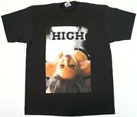 MARIJUANA HIGH T-shirt Weed 420 Pot Kush Blunt Smoke Tee Men's 100% Cotton New