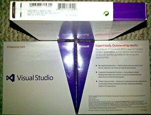 Microsoft Visual Studio Professional 2013, SKU C5E-01018, Full Retail,Sealed Box