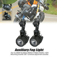 2XLED FEU ADDITIONNEL ANTI BROUILLARD POUR BMW R1200GS F800GS F700GS F650GS ADV