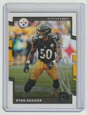 RYAN SHAZIER Steelers SIGNED 2017 Donruss Football #53 Autograph ON CARD AUTO