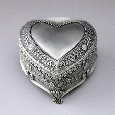 TIN ALLOY HEART SHAPE MUSIC BOX : All of Me ( John Legend)