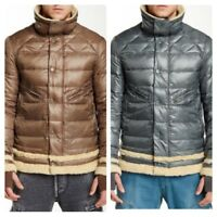 Men`s Genuine Down Puffer Jacket Quilted Padded Warm Winter Coat All Sizes