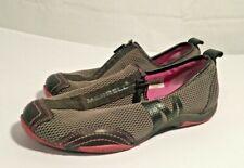 Merrell Barrado Womens Comfortable Flat Grey/Pink Casual Zip Shoes US7.5 VGC