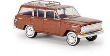 1/87 Brekina Jeep Wagoneer kupfermetallic 19854