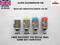 281 BA7S LED CAR BULBS BAYONET DASH SMD PANEL INSTRUMENT DIALS GAUGES LAMP 12V