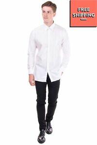 CARLO PIGNATELLI CERIMONIA Shirt Sizer 39 / 15 1/2 / M Round Hem Regular Collar