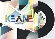 """Keane """"Spiralling"""" 7"""" OOP Mt. Desolation Oasis Diplo Radiohead"""