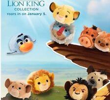 Authentic US Disney The Lion King Tsum Tsum SET of 9 Mini In Hand USA Ed Mufasa