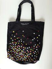 Marc Jacobs Daisy Dot Fragrances Black floral print Tote cotton Shopper Bag