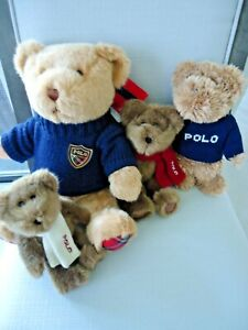 Ralph Lauren Polo Plush Bears