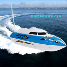 12km/h 10 inch Rc boat Radio Metal Remote Control Rtr Electric Dual Motor Toy
