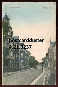 3237 - SWEDEN Angelholm Postcard 1917 Jarnvagsgatan