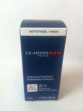 CLARINS MEN - Exfoliating Cleanser - 5ml  Sample - Authentic