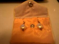 NEW Darling Pearl Teardrop Shaped Drop Earrings NWOT