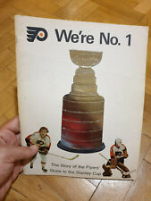 We're No 1, Stanley Cup Philadelphia Flyers . 1974. Celebrating Edition.