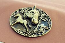 Horse Culture in Mongolia Tourist Travel Souvenir 3D Metal Fridge Magnet Craft