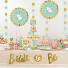 BRIDE TO BE CANDY BAR DECORATIONS pink Green Gold wedding bridal shower sign