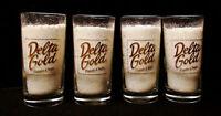 DELTA GOLD POTATO CHIPS SET OF 4 GLASSES