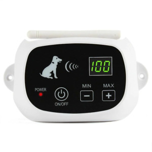 Wireless Electric Dog Pet Fence Shock Collar System Waterproof Transmitter Tool