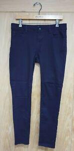 New Look size 12 purple stretch denim skinny jeans W32 x L28