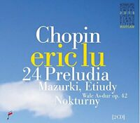 Eric Lu - Chopin: 24 Preludes / Mazurkas / Waltz op. 42 [CD]