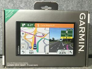 "Garmin DriveSmart 71 EX w/ Traffic 6.95"" GPS Navigator - NO RESERVE!"