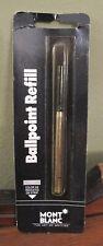 Montblanc Ballpoint Pen Refill Black Fine Point